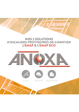 Nos solutions escaliers de chantier