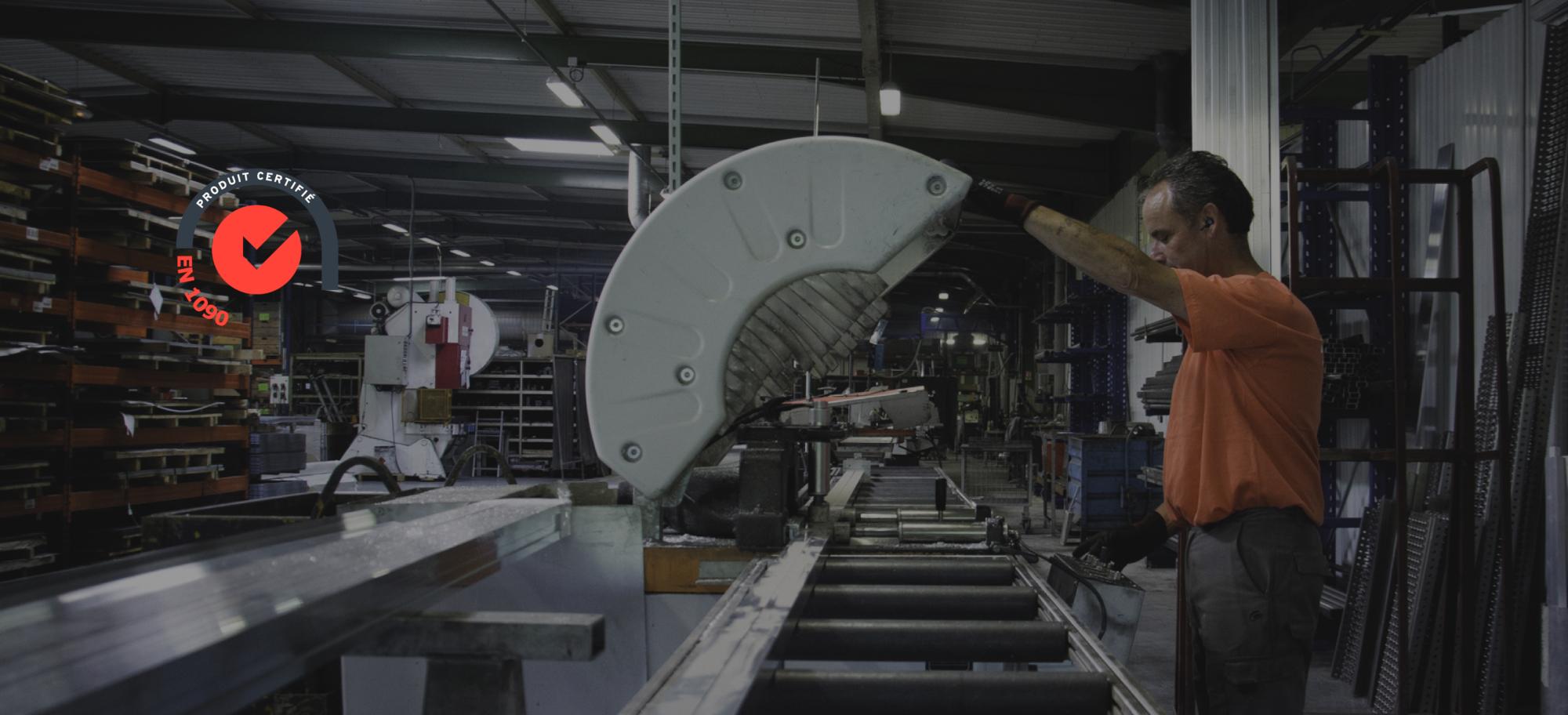 Fabrication made in France dans notre atelier en Normandie