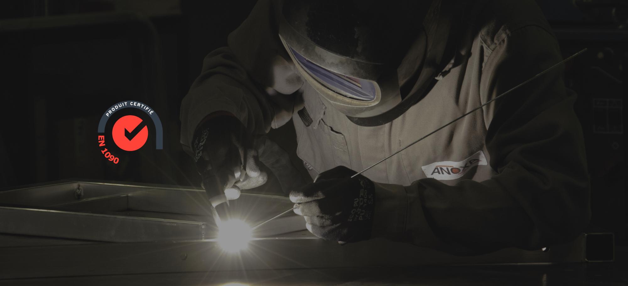 Produits fabriqués en aluminium, acier, inox 304L ou inox 316L